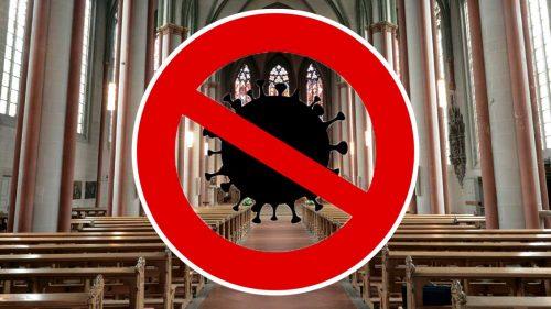 Präsenzgottesdienste in der Evang. Kirchengemeinde Lauf bis zum 31.1.2021 abgesagt und durch Livestreams ersetzt. Bild Bistum Münster