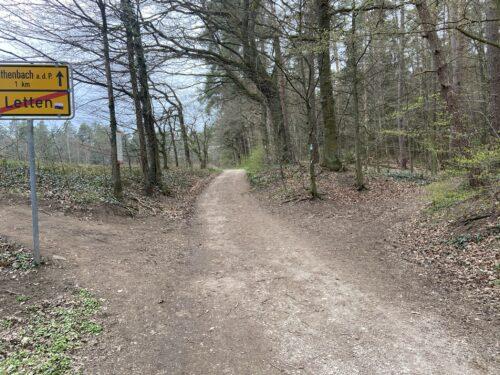Abbiegen nach Röthenbach